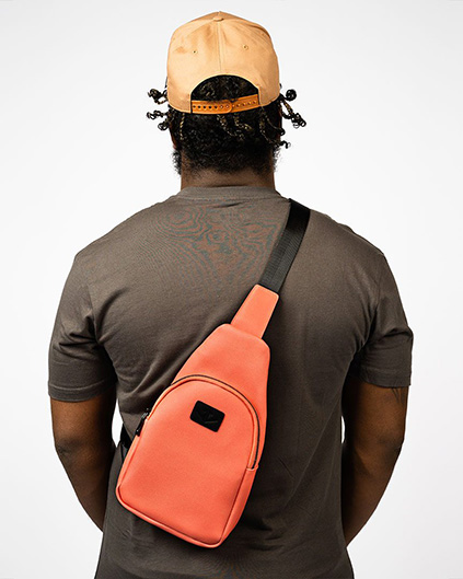 €¥£$ LIMITED EDITION GINZA SLING PACK (Coral) 1