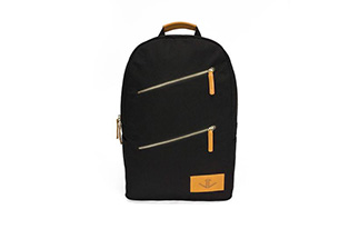 KINGSTON BACKPACK - BLACK CANVAS (1)