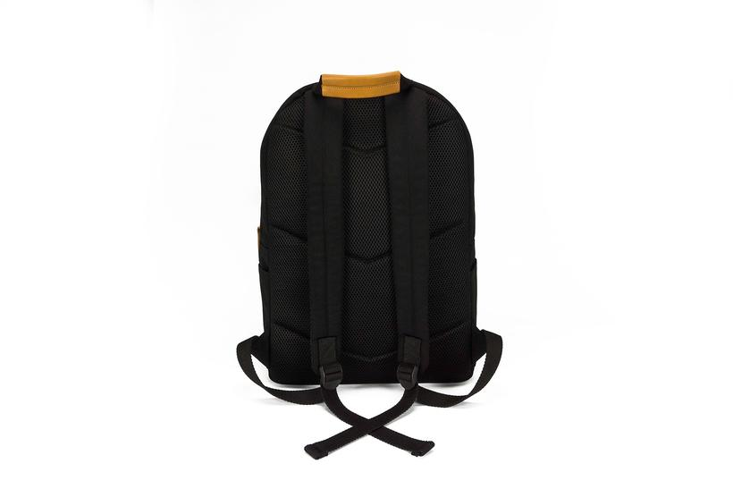 KINGSTON BACKPACK - BLACK CANVAS (2)