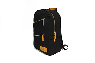 KINGSTON BACKPACK - BLACK CANVAS (4)