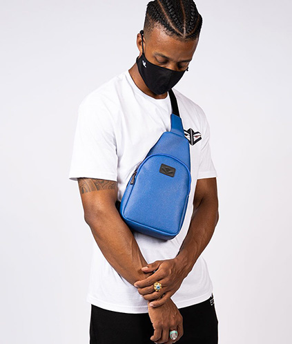 ginza sling pack blue 1