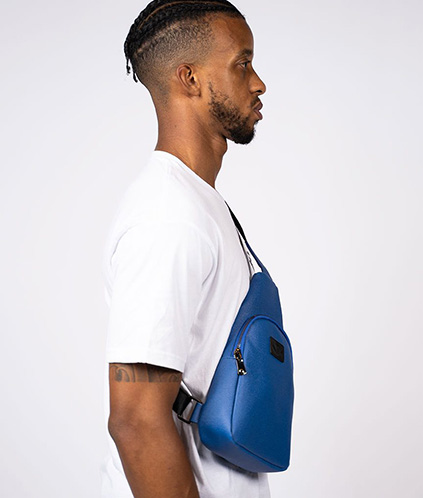 ginza sling pack blue 2