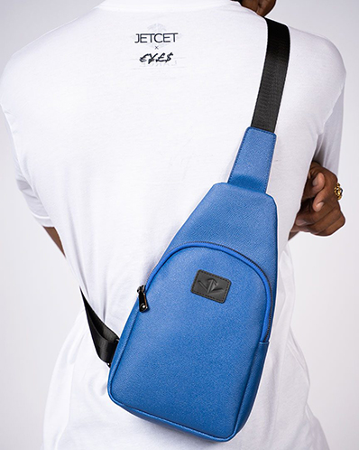 ginza sling pack blue